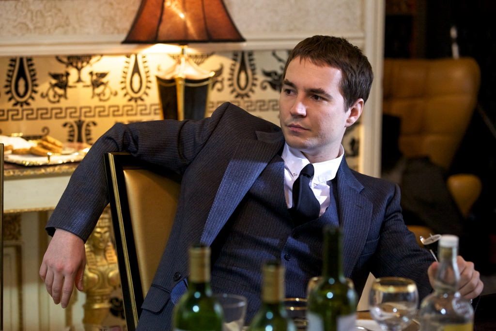 Lead actor Martin Compston