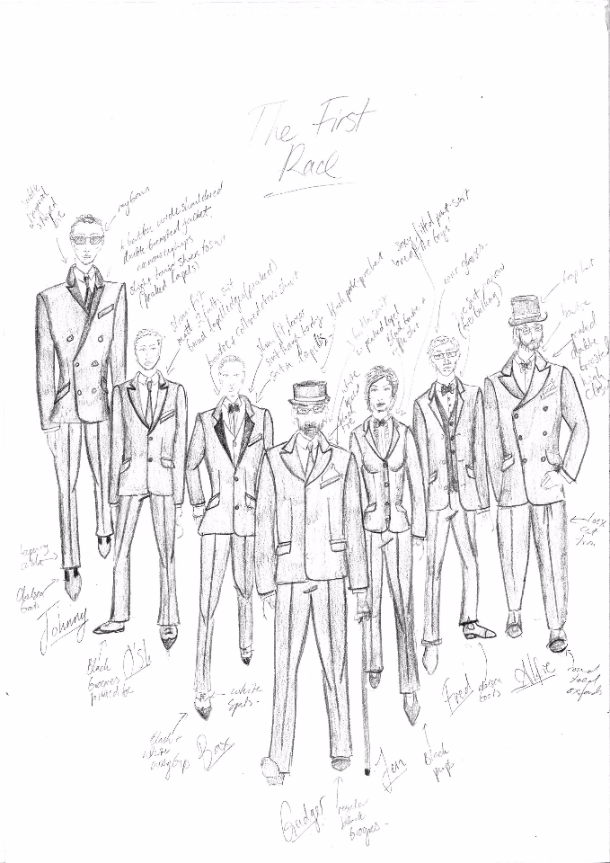 1985 Drama - Costume Designs for Ensemble Cast