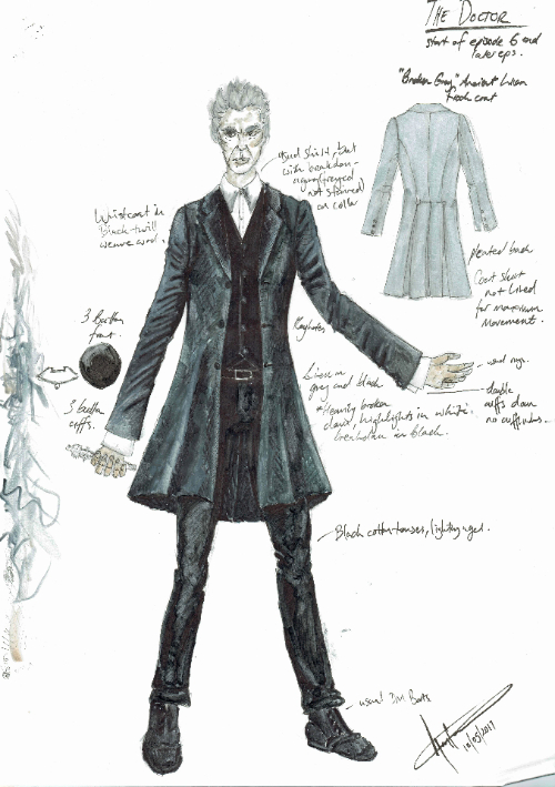 Design for the 12th Doctor