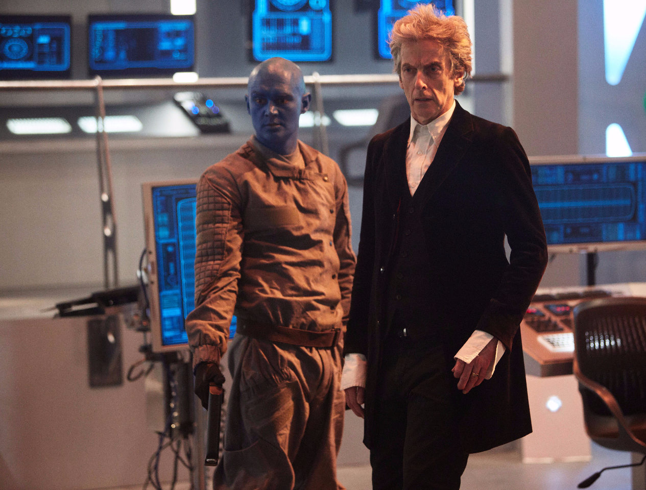 'Jorj' and The Doctor, in scene