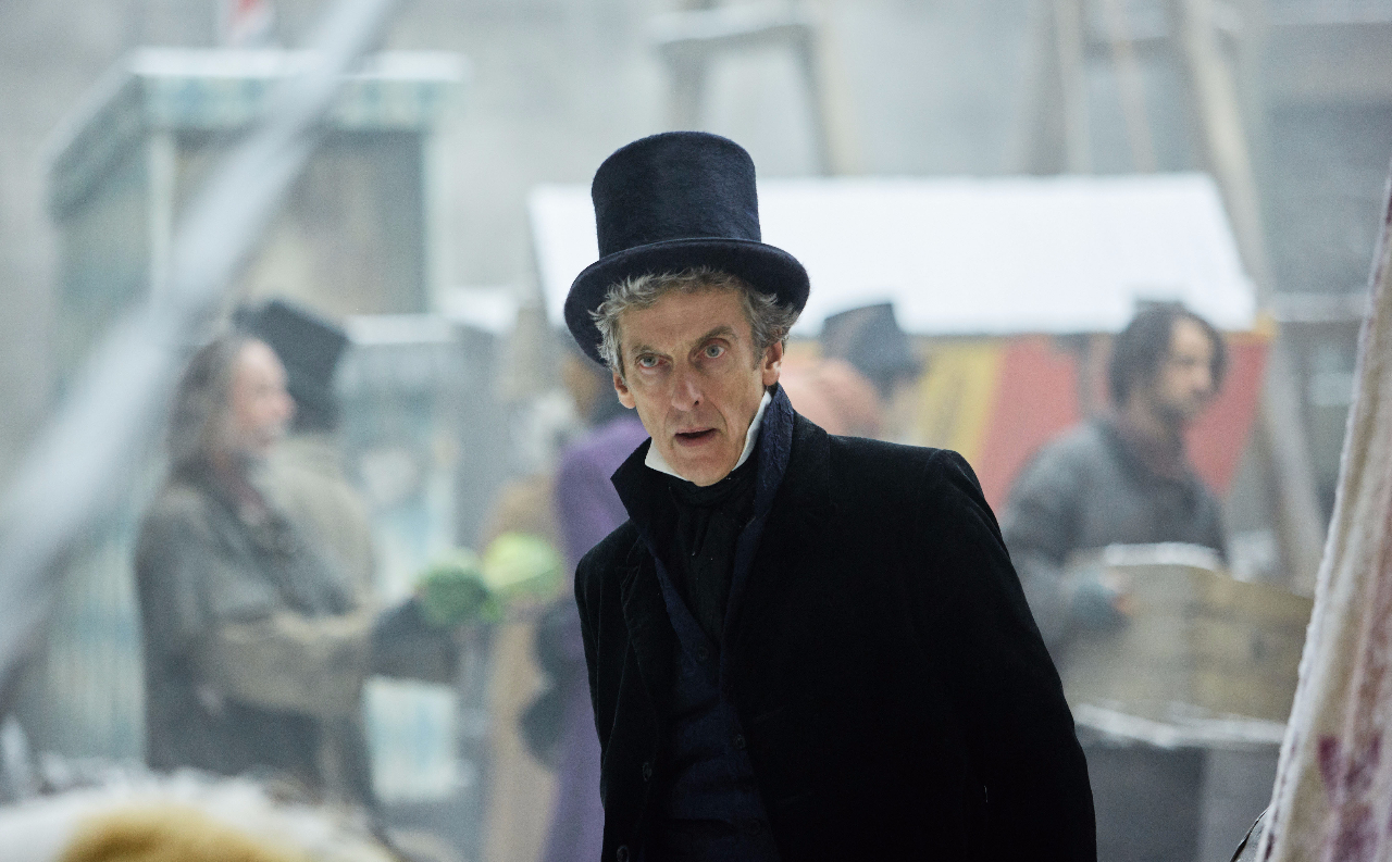 Peter Capaldi as The Doctor in 1814 episode