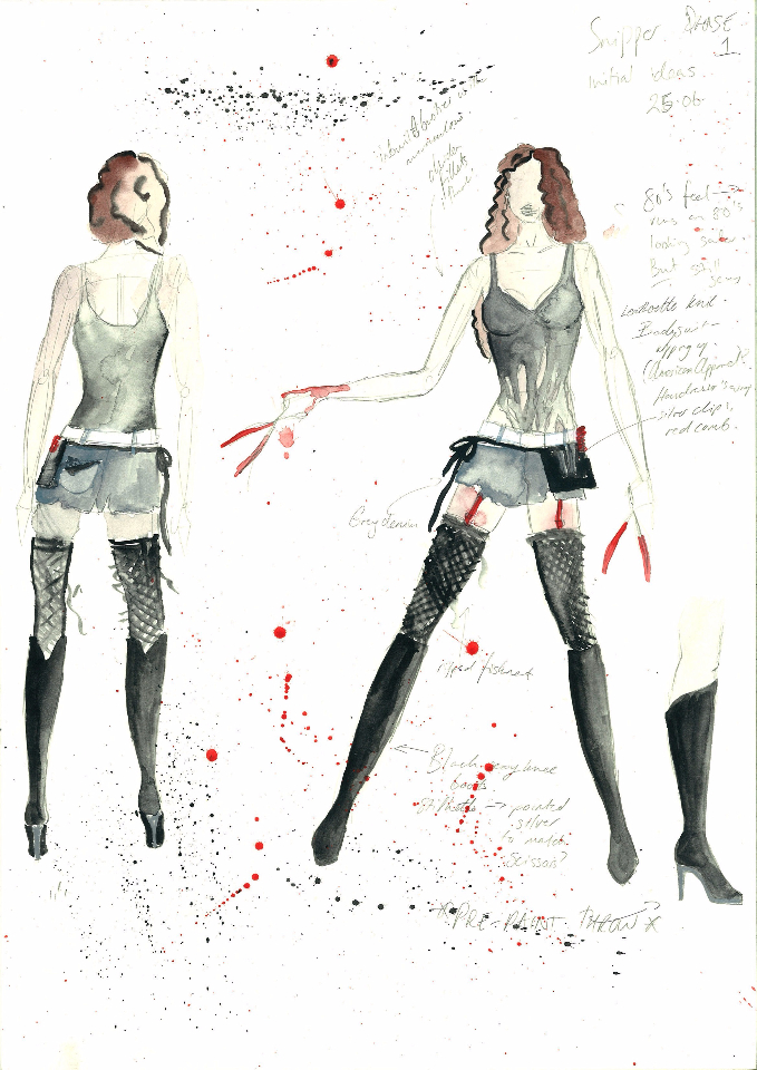 Costume Design - The Snipper