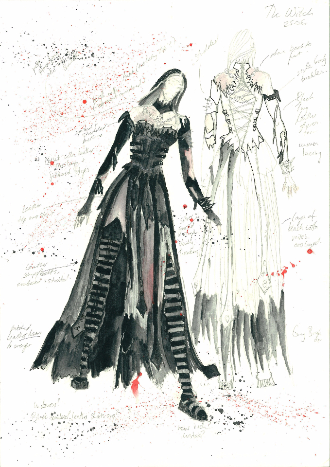 Costume Design - The Witch