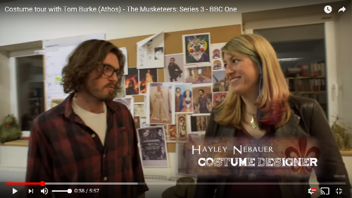 June 2016 - Musketeers Costume Department Tour Video