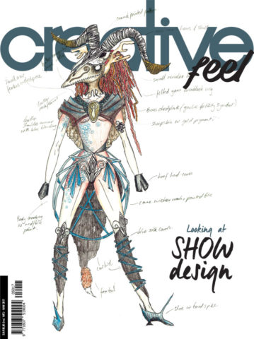 May 2017 - Creative Feel Magazine  Cover and Article