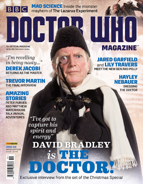 November 2017 - Doctor Who Magazine Cover issue 519