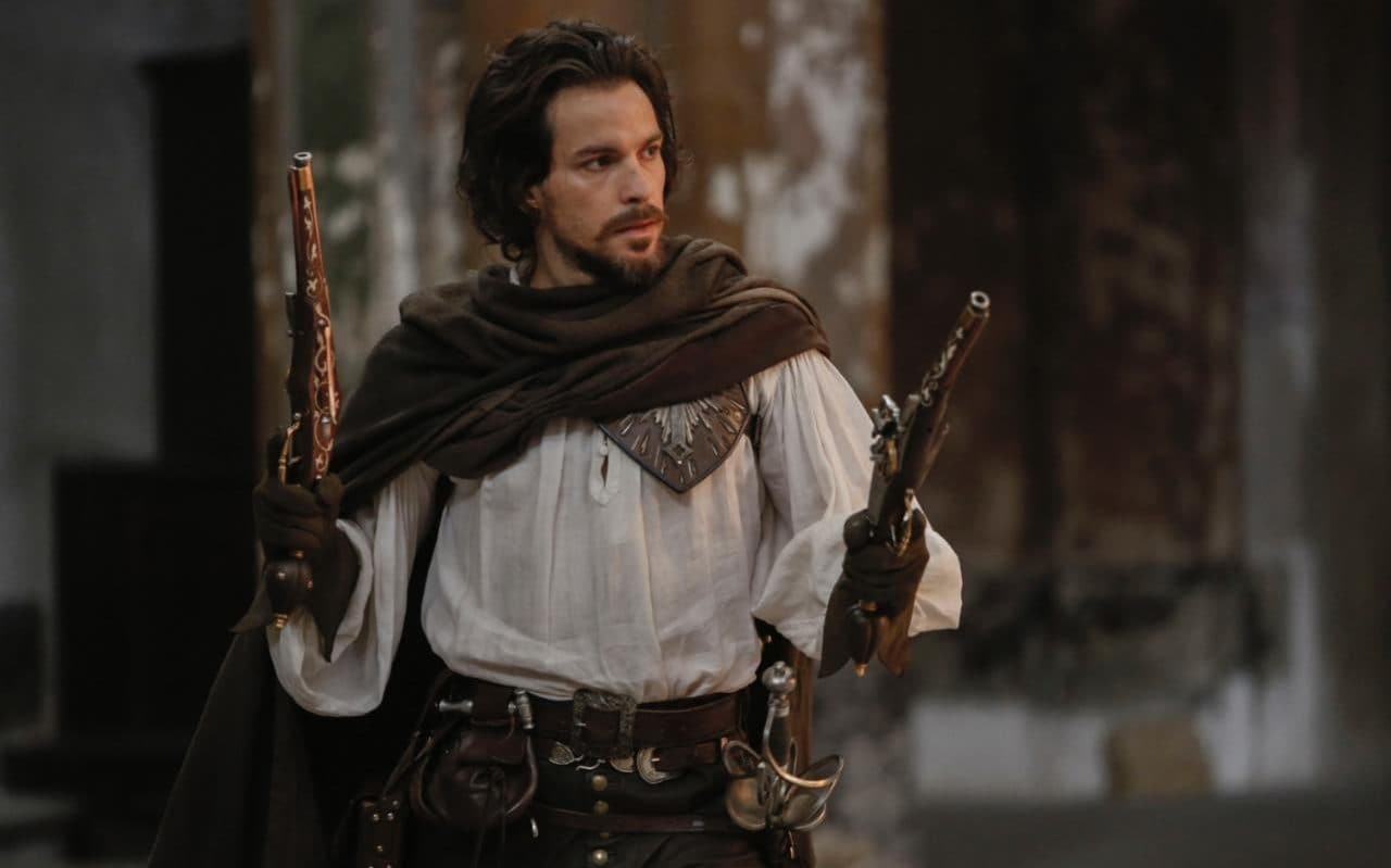 Aramis in episode 6