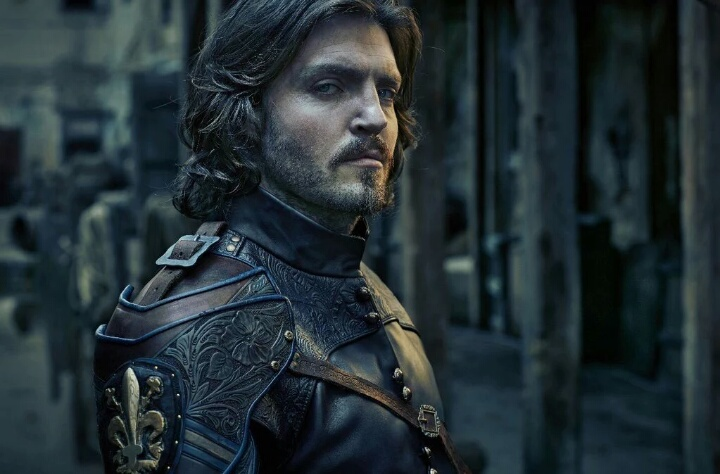 Tom Burke as Athos