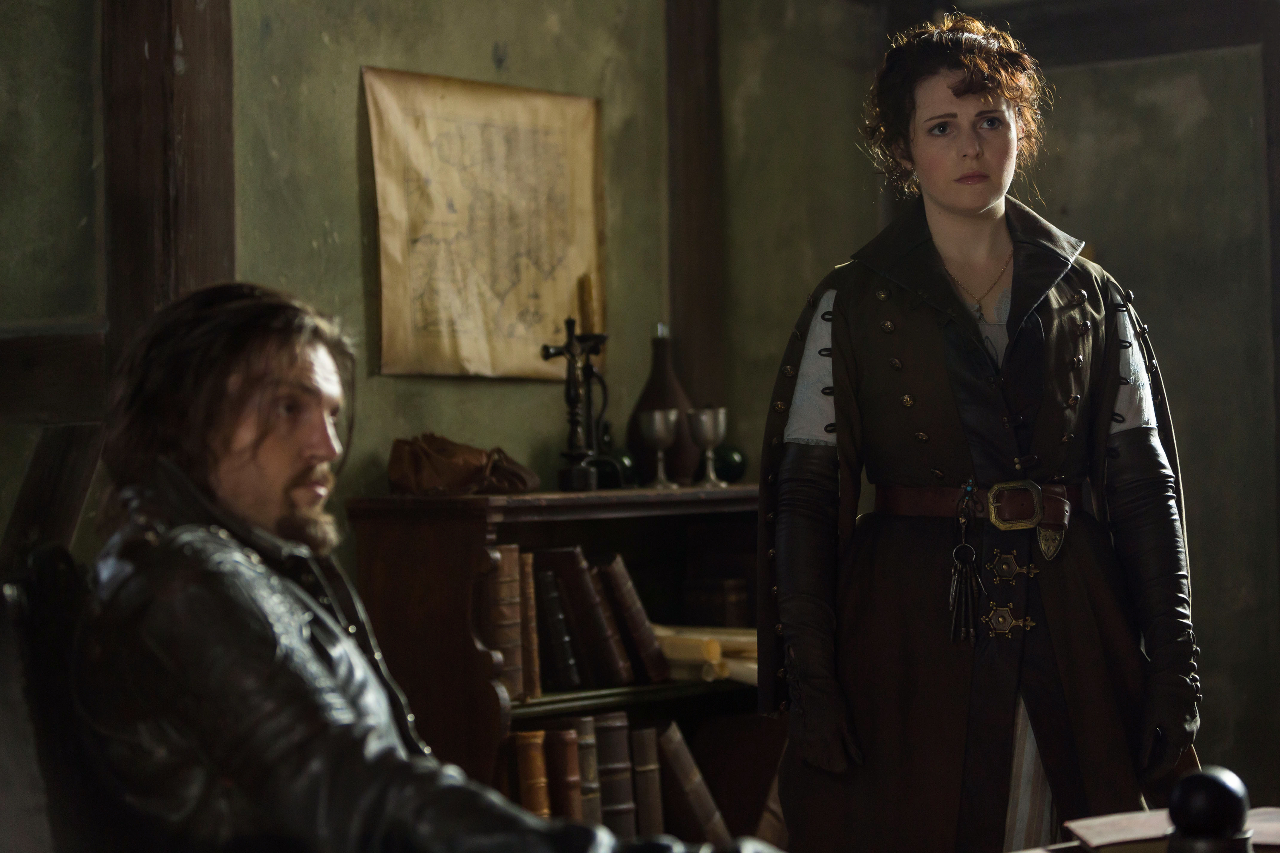 Tamla Kari as Constance in new costume for series 3