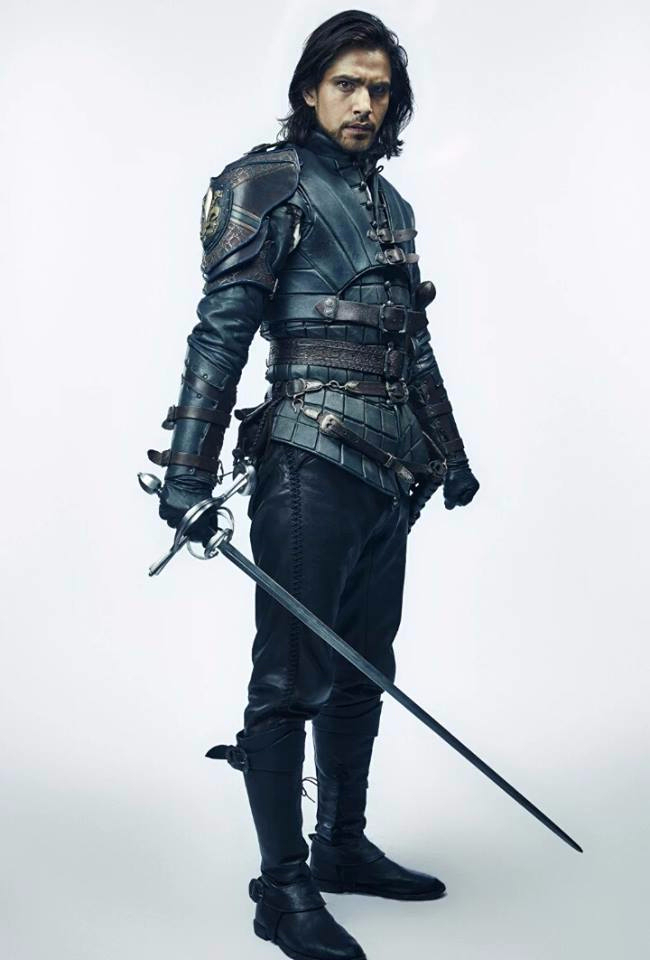 D'Artagnan's new costume for series 3
