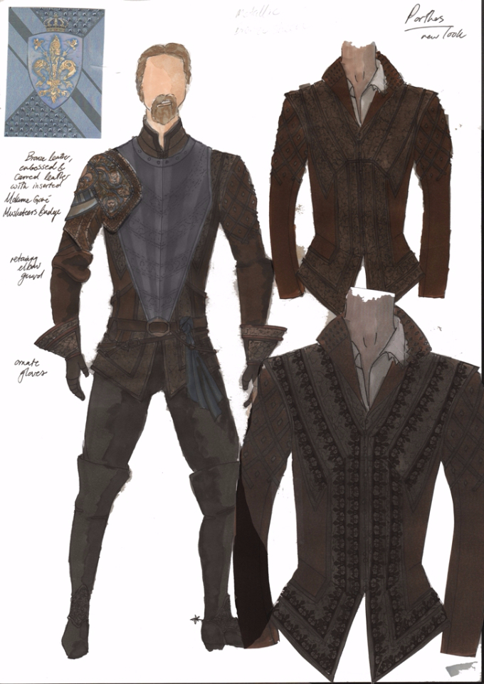 Porthos new costume for series 3