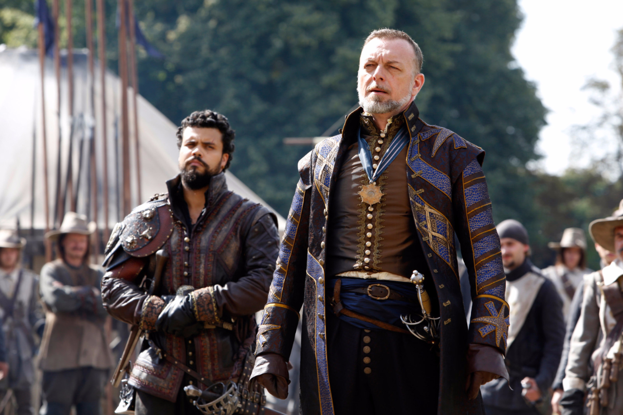Treville costume design for episodes 9 and 10