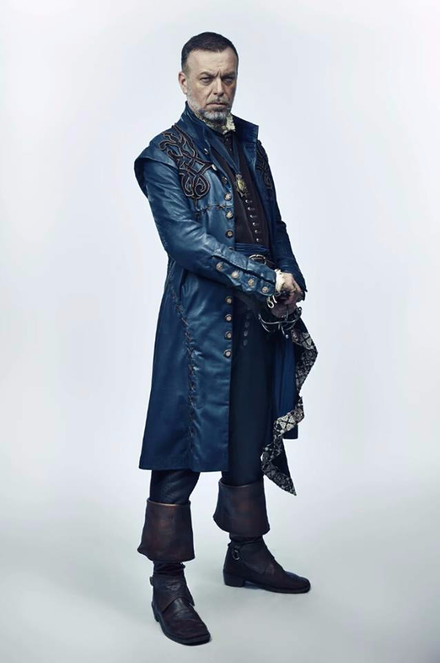Hugo Speer as 'Treville' in the Musketeers
